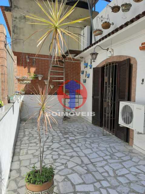 Área externa - Casa 4 quartos à venda Tijuca, Rio de Janeiro - R$ 800.000 - TJCA40047 - 23
