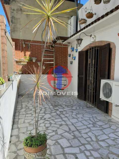 Área externa - Casa 4 quartos à venda Tijuca, Rio de Janeiro - R$ 800.000 - TJCA40047 - 24