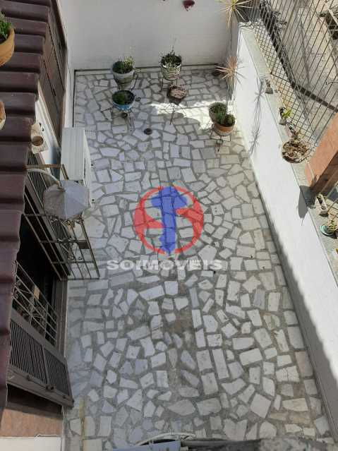 Área externa - Casa 4 quartos à venda Tijuca, Rio de Janeiro - R$ 800.000 - TJCA40047 - 25