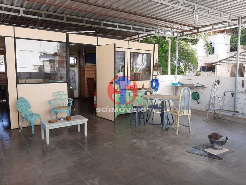 Terraço - Casa 4 quartos à venda Tijuca, Rio de Janeiro - R$ 800.000 - TJCA40047 - 27