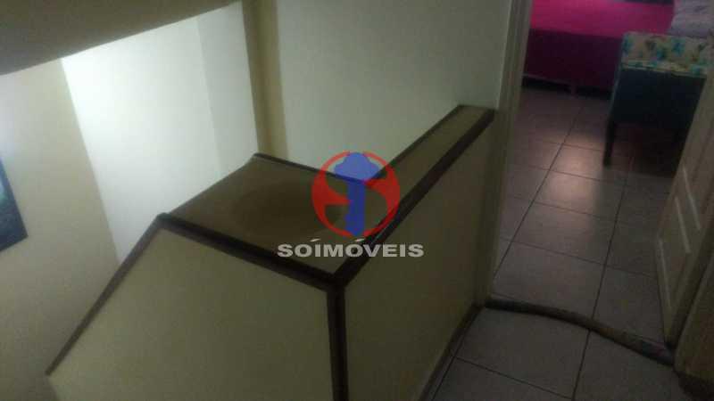 Circulação - Casa 3 quartos à venda Tijuca, Rio de Janeiro - R$ 1.200.000 - TJCA30073 - 15