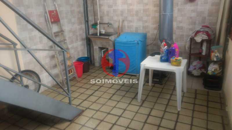 Área - Casa 3 quartos à venda Tijuca, Rio de Janeiro - R$ 1.200.000 - TJCA30073 - 16