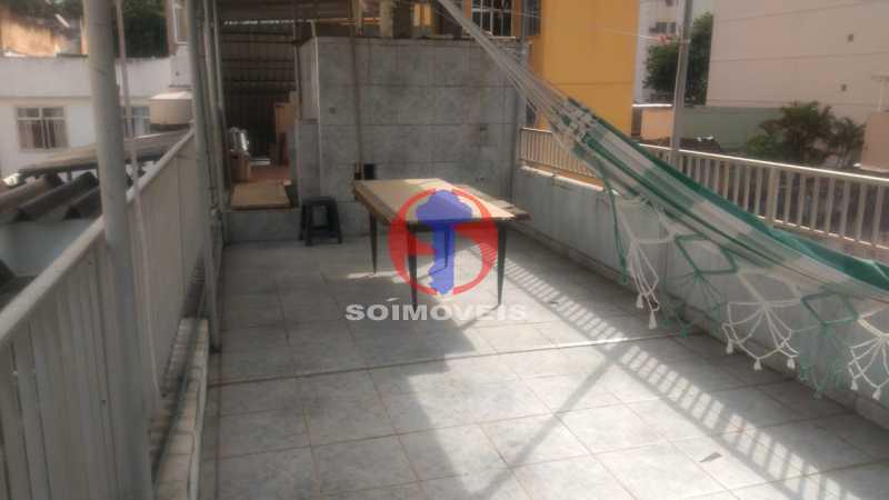 Terraço - Casa 3 quartos à venda Tijuca, Rio de Janeiro - R$ 1.200.000 - TJCA30073 - 18