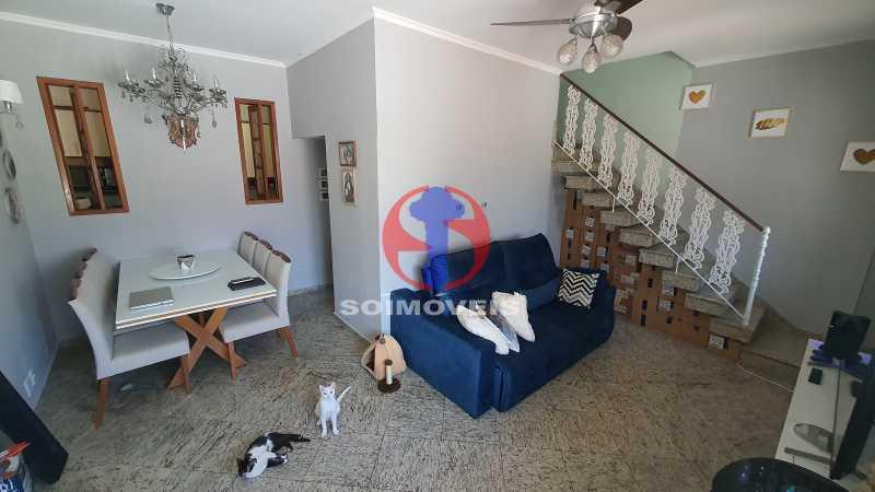 SALA - Casa em Condomínio 3 quartos à venda Vila Isabel, Rio de Janeiro - R$ 1.100.000 - TJCN30019 - 1
