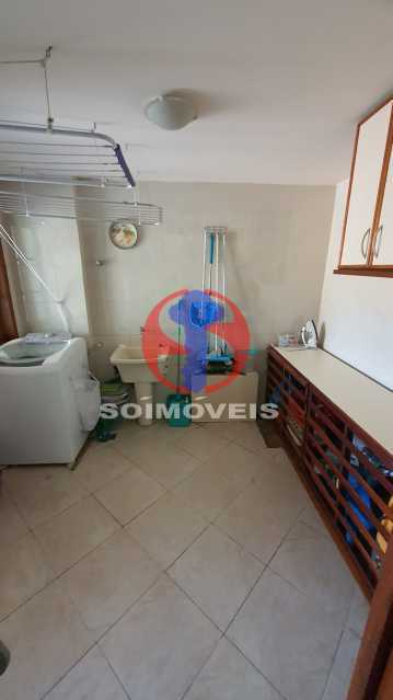ÁREA DE SERVIÇO - Casa em Condomínio 3 quartos à venda Vila Isabel, Rio de Janeiro - R$ 1.100.000 - TJCN30019 - 9