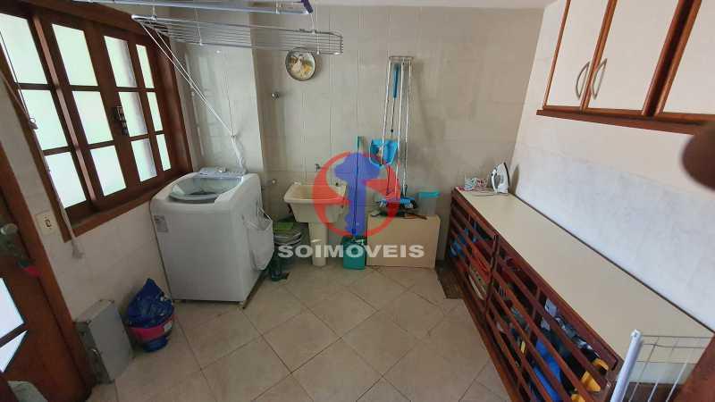 ÁREA DE SERVIÇO - Casa em Condomínio 3 quartos à venda Vila Isabel, Rio de Janeiro - R$ 1.100.000 - TJCN30019 - 10