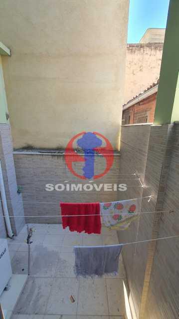 PEQUENA ÁREA EXTERNA DO QUARTO - Casa em Condomínio 3 quartos à venda Vila Isabel, Rio de Janeiro - R$ 1.100.000 - TJCN30019 - 19