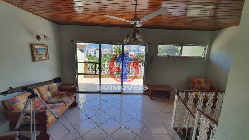 SALÃO, VARANDA E CHURRASQUEIRA - Casa em Condomínio 3 quartos à venda Vila Isabel, Rio de Janeiro - R$ 1.100.000 - TJCN30019 - 24