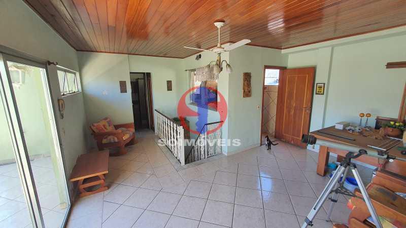 SALÃO, VARANDA E CHURRASQUEIRA - Casa em Condomínio 3 quartos à venda Vila Isabel, Rio de Janeiro - R$ 1.100.000 - TJCN30019 - 25