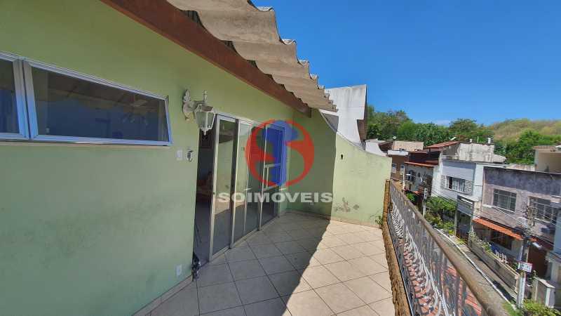 VARANDA - Casa em Condomínio 3 quartos à venda Vila Isabel, Rio de Janeiro - R$ 1.100.000 - TJCN30019 - 28