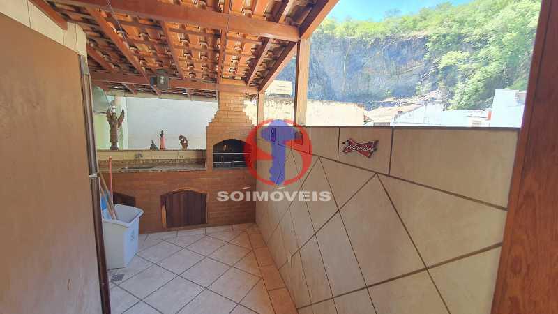 CHURRASQUERIA - Casa em Condomínio 3 quartos à venda Vila Isabel, Rio de Janeiro - R$ 1.100.000 - TJCN30019 - 26