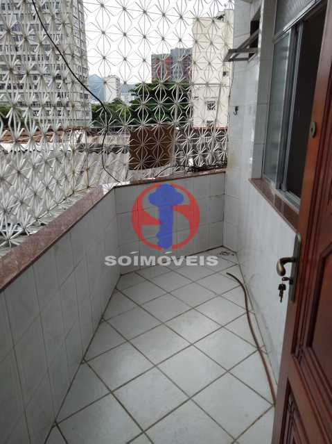 VARANDA - Apartamento 3 quartos à venda Andaraí, Rio de Janeiro - R$ 495.000 - TJAP30634 - 7