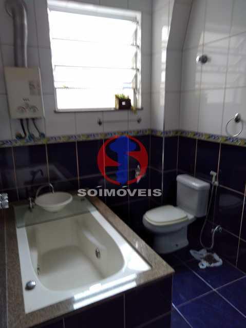 WC SOCIAL-HID. - Apartamento 3 quartos à venda Andaraí, Rio de Janeiro - R$ 495.000 - TJAP30634 - 12