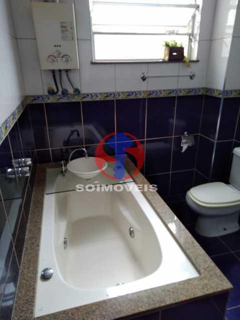 WC SOCIAL - Apartamento 3 quartos à venda Andaraí, Rio de Janeiro - R$ 495.000 - TJAP30634 - 14