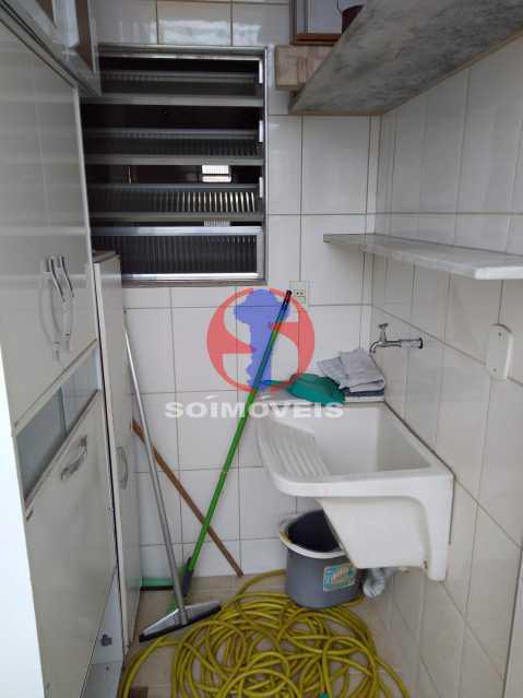 ÁREA DE LAV. - Apartamento 3 quartos à venda Andaraí, Rio de Janeiro - R$ 495.000 - TJAP30634 - 28