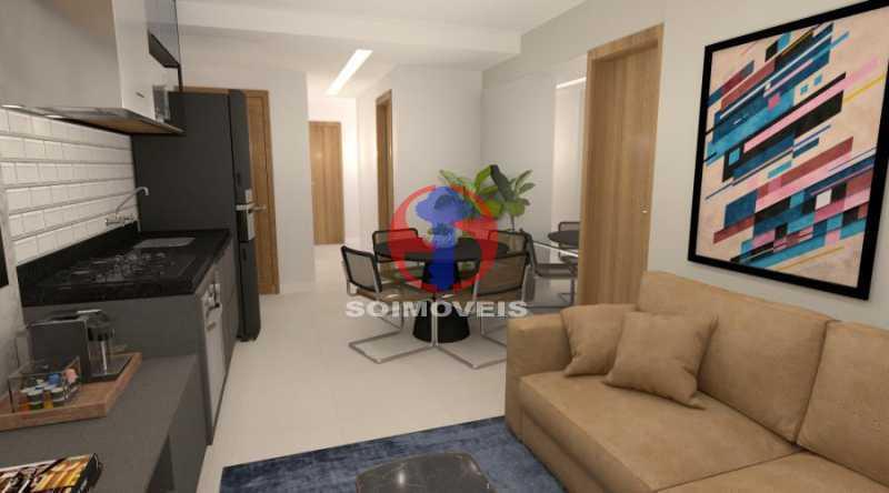 WhatsApp Image 2021-02-09 at 1 - Apartamento 2 quartos à venda Botafogo, Rio de Janeiro - R$ 599.000 - TJAP21368 - 3