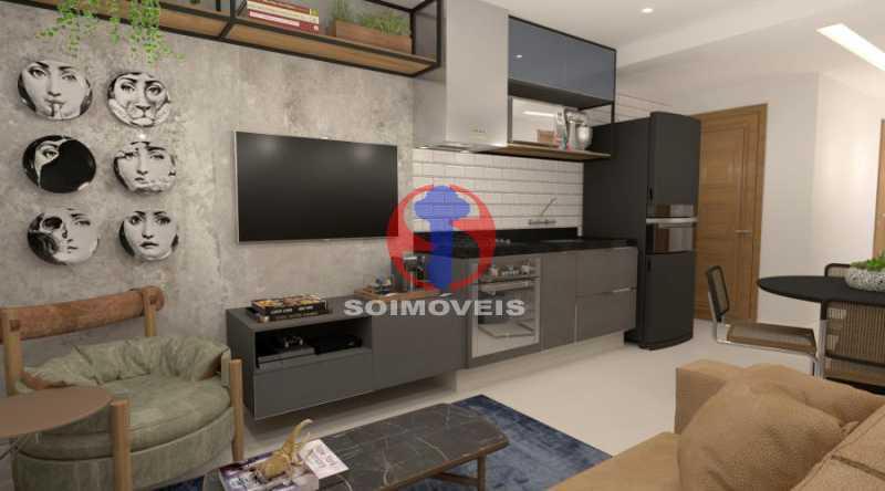 WhatsApp Image 2021-02-09 at 1 - Apartamento 2 quartos à venda Botafogo, Rio de Janeiro - R$ 599.000 - TJAP21368 - 1