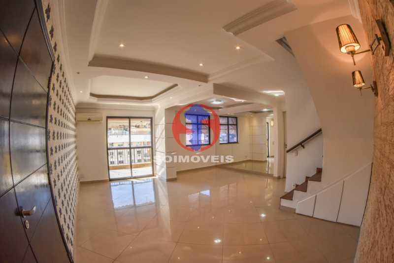 Salão - Cobertura 3 quartos à venda Tijuca, Rio de Janeiro - R$ 900.000 - TJCO30048 - 1