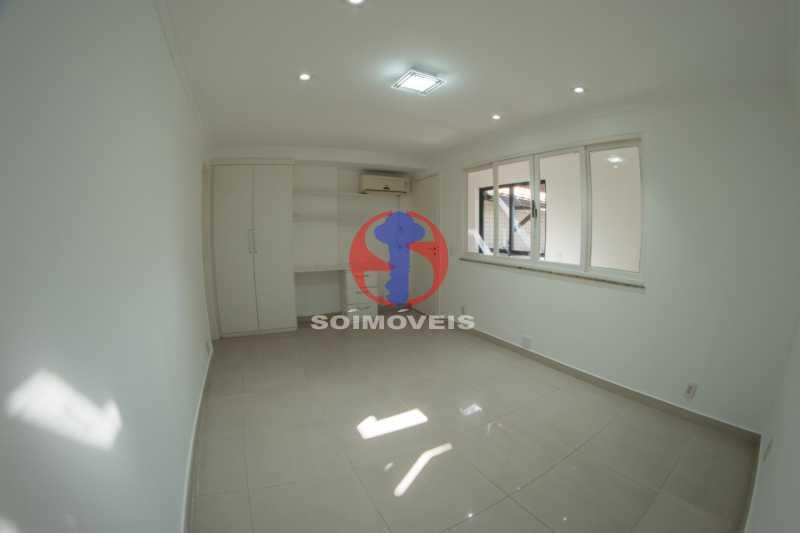 Quarto  - Cobertura 3 quartos à venda Tijuca, Rio de Janeiro - R$ 900.000 - TJCO30048 - 7