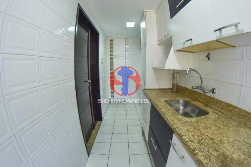 Cozinha - Cobertura 3 quartos à venda Tijuca, Rio de Janeiro - R$ 900.000 - TJCO30048 - 15