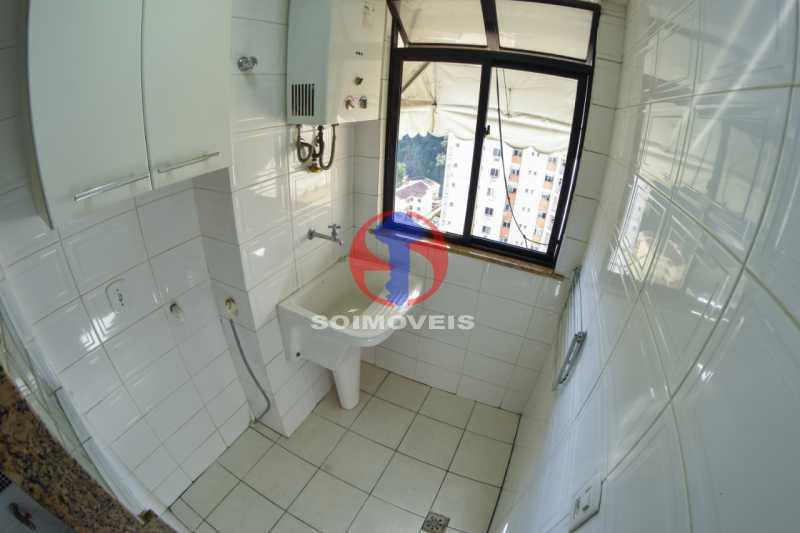 Area - Cobertura 3 quartos à venda Tijuca, Rio de Janeiro - R$ 900.000 - TJCO30048 - 16