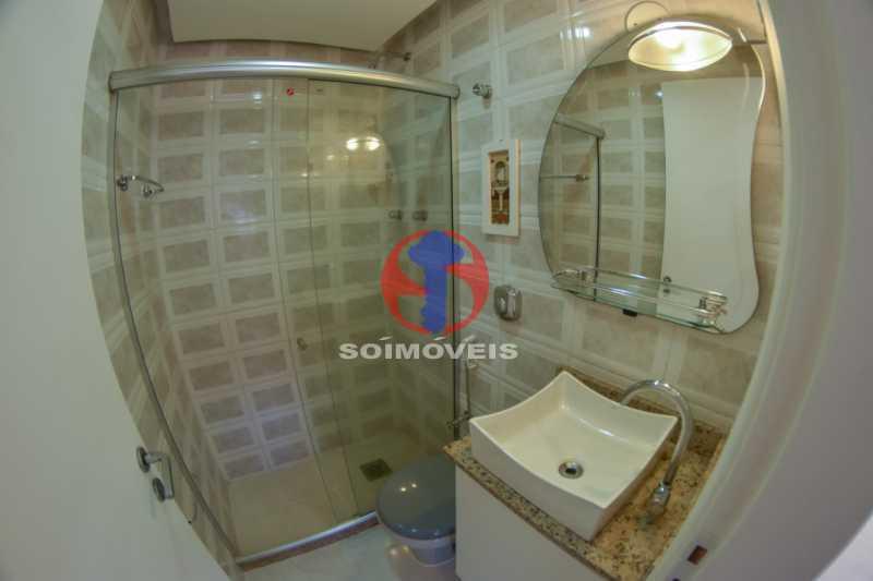 Banheiro - Cobertura 3 quartos à venda Tijuca, Rio de Janeiro - R$ 900.000 - TJCO30048 - 13