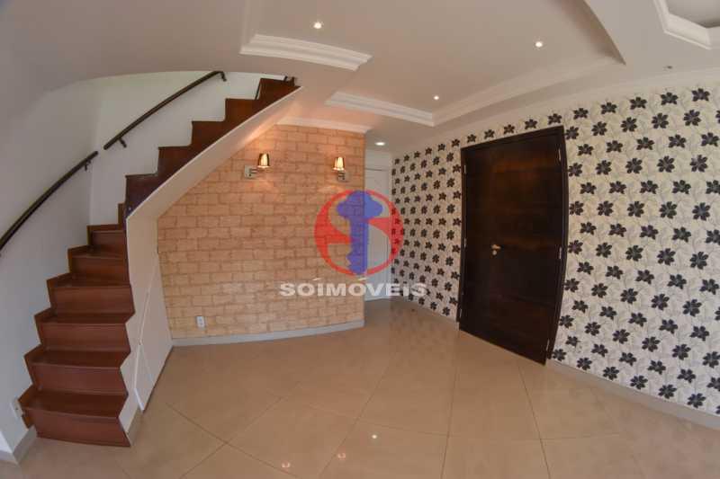 Acesso segundo andar - Cobertura 3 quartos à venda Tijuca, Rio de Janeiro - R$ 900.000 - TJCO30048 - 6