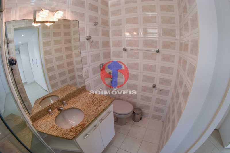 Banheiro - Cobertura 3 quartos à venda Tijuca, Rio de Janeiro - R$ 900.000 - TJCO30048 - 11