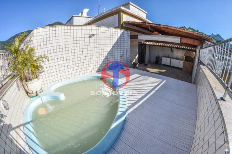 Terraço - Cobertura 3 quartos à venda Tijuca, Rio de Janeiro - R$ 900.000 - TJCO30048 - 25