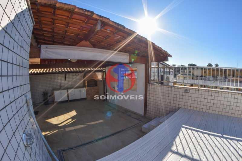 Terraço - Cobertura 3 quartos à venda Tijuca, Rio de Janeiro - R$ 900.000 - TJCO30048 - 27