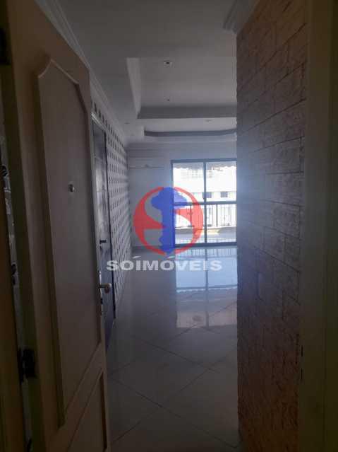 Entrada - Cobertura 3 quartos à venda Tijuca, Rio de Janeiro - R$ 900.000 - TJCO30048 - 3