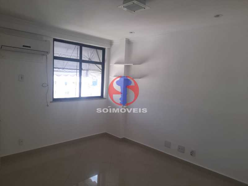 Quarto - Cobertura 3 quartos à venda Tijuca, Rio de Janeiro - R$ 900.000 - TJCO30048 - 9