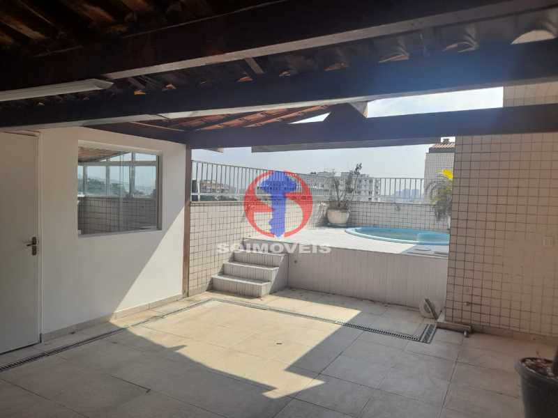 Piscina - Cobertura 3 quartos à venda Tijuca, Rio de Janeiro - R$ 900.000 - TJCO30048 - 23