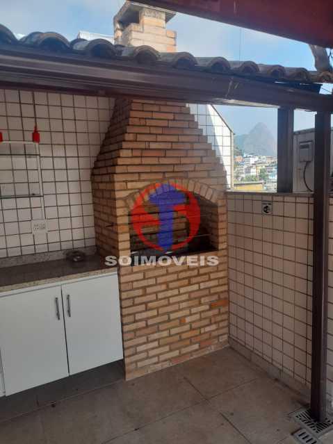 Churrasqueira e Bancada - Cobertura 3 quartos à venda Tijuca, Rio de Janeiro - R$ 900.000 - TJCO30048 - 28