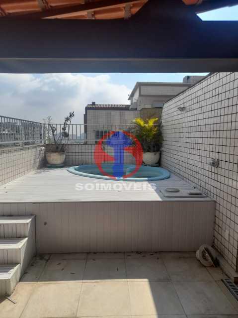 Piscina - Cobertura 3 quartos à venda Tijuca, Rio de Janeiro - R$ 900.000 - TJCO30048 - 24