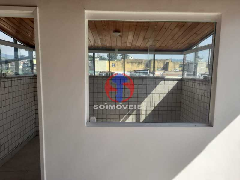 Quarto - Cobertura 3 quartos à venda Tijuca, Rio de Janeiro - R$ 900.000 - TJCO30048 - 29