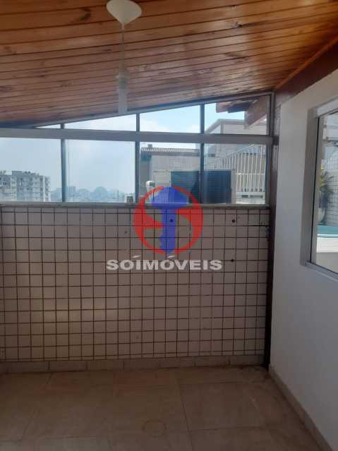 Quarto - Cobertura 3 quartos à venda Tijuca, Rio de Janeiro - R$ 900.000 - TJCO30048 - 30