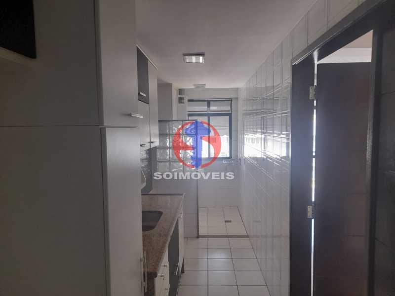 Cozinha - Cobertura 3 quartos à venda Tijuca, Rio de Janeiro - R$ 900.000 - TJCO30048 - 14