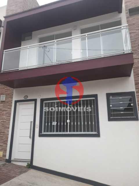 Fachada - Casa de Vila 2 quartos à venda São Francisco Xavier, Rio de Janeiro - R$ 410.000 - TJCV20098 - 3