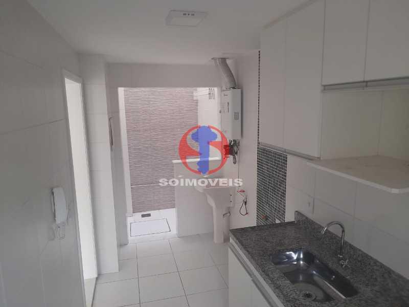 Cozinha e Area - Casa de Vila 2 quartos à venda São Francisco Xavier, Rio de Janeiro - R$ 410.000 - TJCV20098 - 10
