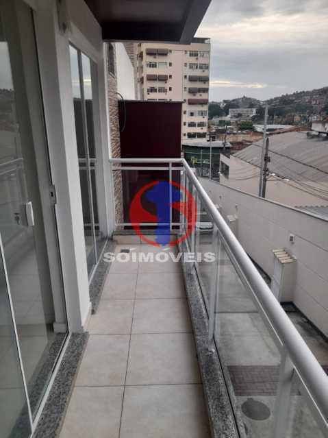 Varanda - Casa de Vila 2 quartos à venda São Francisco Xavier, Rio de Janeiro - R$ 410.000 - TJCV20098 - 15