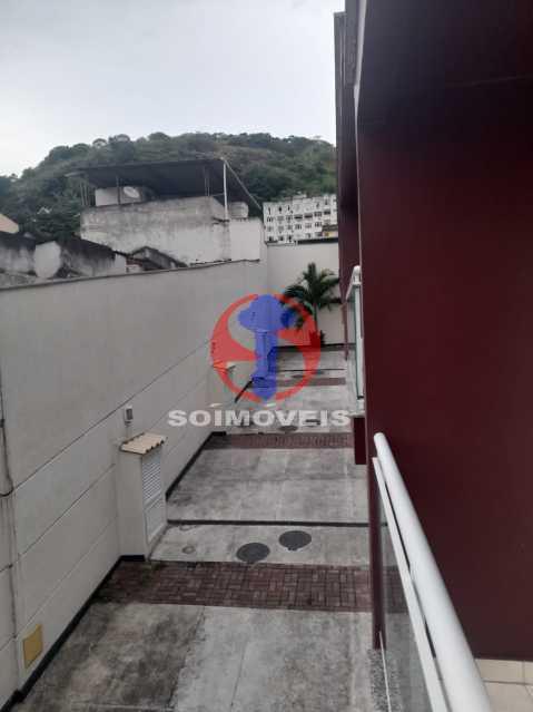 Pátio - Casa de Vila 2 quartos à venda São Francisco Xavier, Rio de Janeiro - R$ 410.000 - TJCV20098 - 22