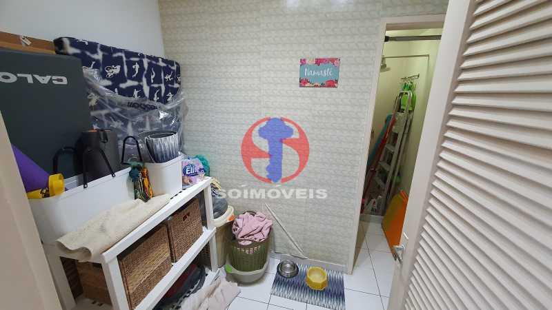 DEPENDENCIA - Apartamento 1 quarto à venda Vila Isabel, Rio de Janeiro - R$ 225.000 - TJAP10306 - 18