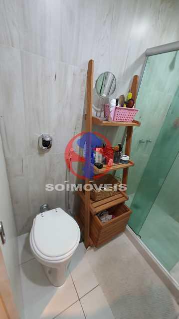 BANHEIRO - Apartamento 1 quarto à venda Vila Isabel, Rio de Janeiro - R$ 225.000 - TJAP10306 - 15