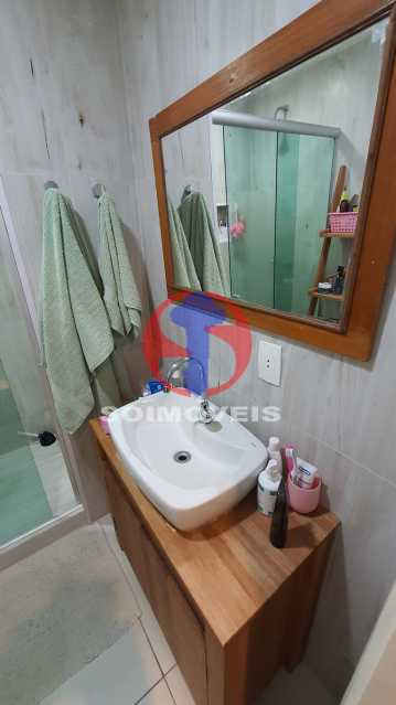 BANHEIRO - Apartamento 1 quarto à venda Vila Isabel, Rio de Janeiro - R$ 225.000 - TJAP10306 - 16