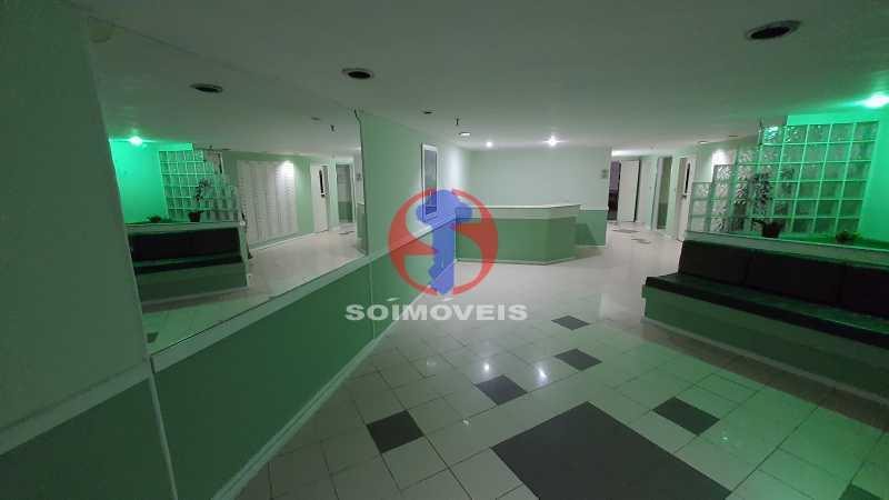 HALL DO PREDIO - Apartamento 1 quarto à venda Vila Isabel, Rio de Janeiro - R$ 225.000 - TJAP10306 - 20
