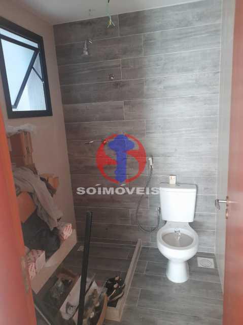 Banheiro - Apartamento 1 quarto à venda Maracanã, Rio de Janeiro - R$ 454.120 - TJAP10307 - 5