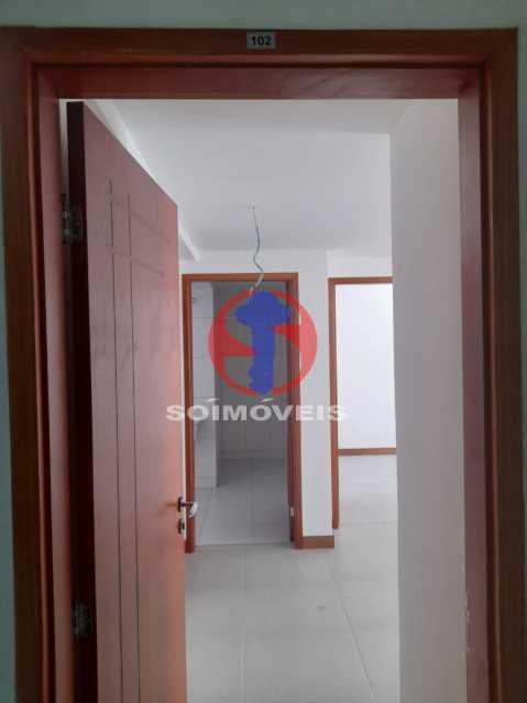 Hall de Entrada - Apartamento 1 quarto à venda Maracanã, Rio de Janeiro - R$ 454.120 - TJAP10307 - 1