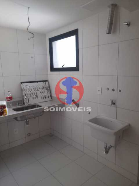 Cozinha - Apartamento 1 quarto à venda Maracanã, Rio de Janeiro - R$ 454.120 - TJAP10307 - 7