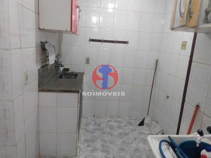 Cozinha - Apartamento 1 quarto à venda São Cristóvão, Rio de Janeiro - R$ 160.000 - TJAP10308 - 13
